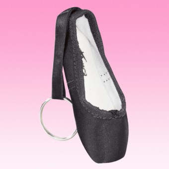 Black Pointe Shoe Keyring