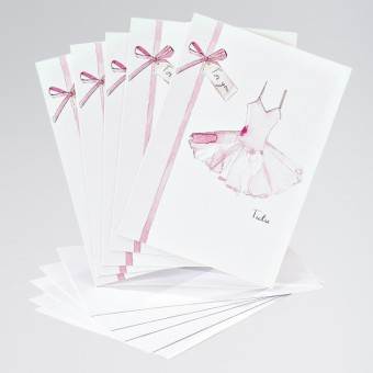 Pink Tutu Card (Pack of 5)