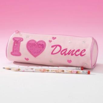 Katz I Heart Dance Pencil Case