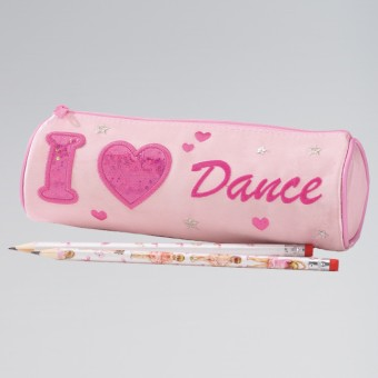Katz I Heart Dance Pencil Case