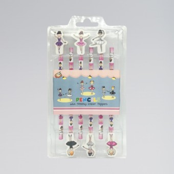 Ballerina 6 Pcs Pencil Set