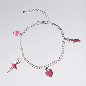 Ballerina/hearts Bracelet