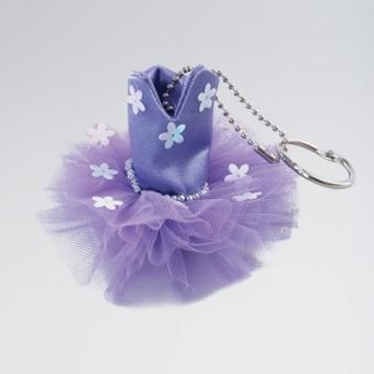 Katz Tutu Keyring Purple