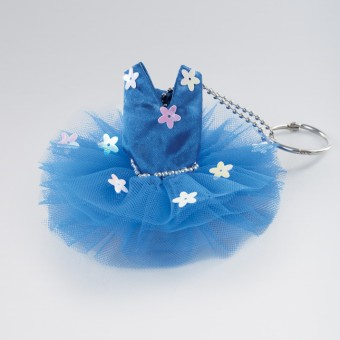 Katz Tutu Keyring Royal Blue