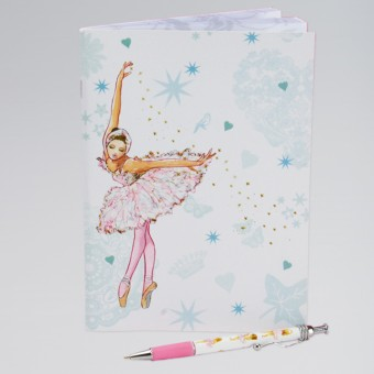 Swan Ballerina Soft Notebook