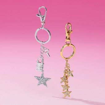 Stars Keyring - assorted designs