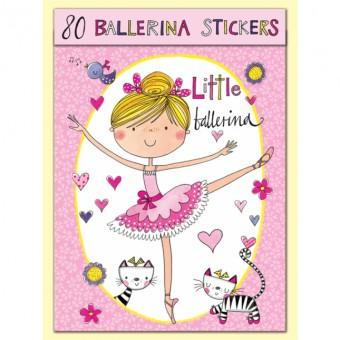 Rachel Ellen Ballerina Stickers