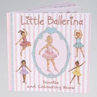 Little Ballerina Colouring Book