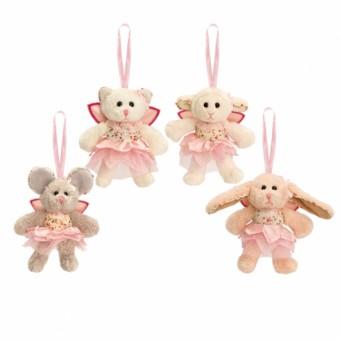 Belle Rose Small Ballerinas on Ribbon 8cm (Assorted Designs)