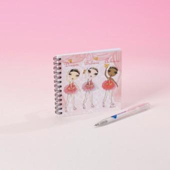 Ballet Papier Dream Believe Achieve Notebook