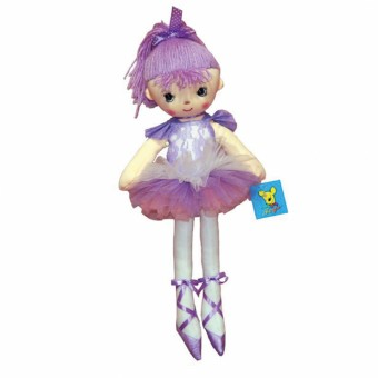 Rag Doll Ballerina Purple