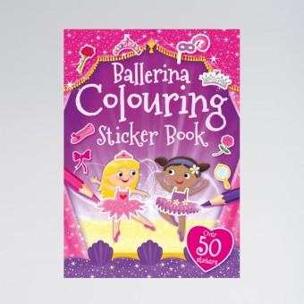 Ballerina Sticker Book