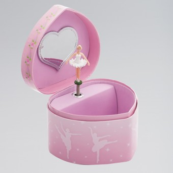 Katz Heart Shaped Jewellery Box