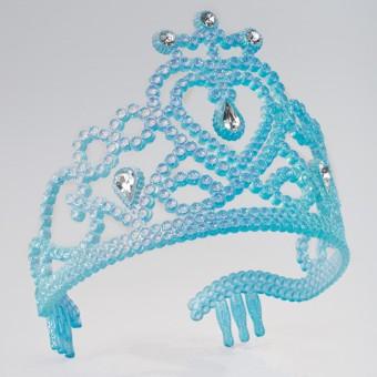 Blue Glitter Tiara