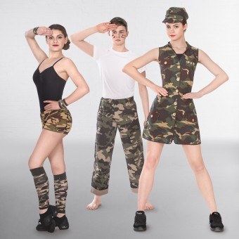 Army Girl Dress Adult