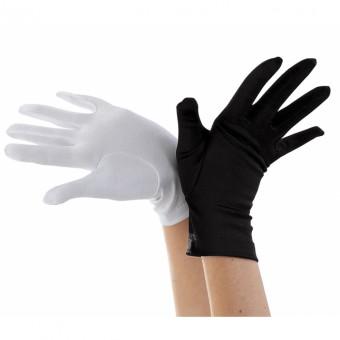 Black Short Gloves - Adult