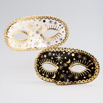 Black/gold Face Mask