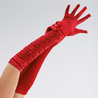 Red Theatrical Gloves Adult