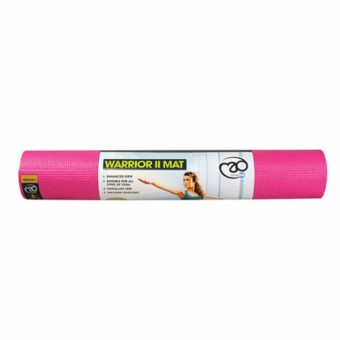 Fitness Mad Warrior Yoga Mat II Hot pink
