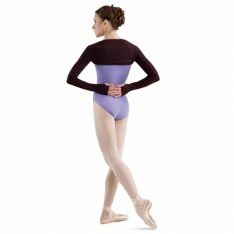 Bloch Lydia Long Sleeve Shrug (Black)