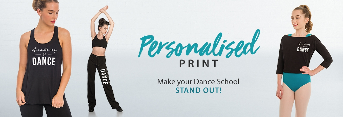 f54bbee34833 Personalised Printing - IDS  International Dance Supplies Ltd